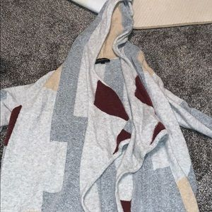 Lane Bryant hooded cardigan
